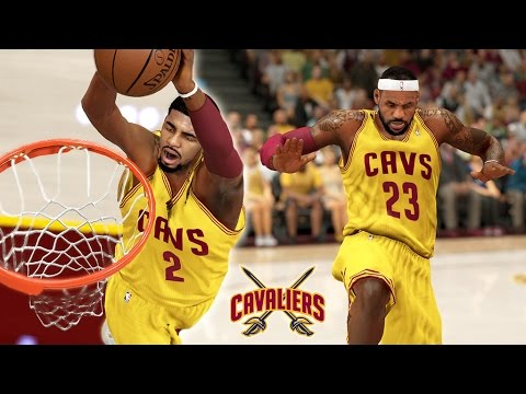 NBA 2K14 Cavaliers MyGM #16 Bringing Back Wiggins Bounce Pass Out Of The Building