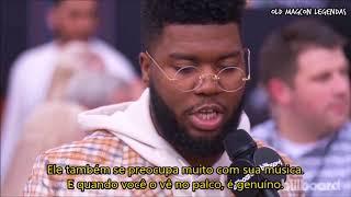 Download Lagu Khalid fala sobre Shawn Mendes no BBMAs 2018 (Legendado PT/BR) Gratis STAFABAND