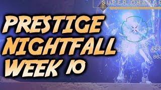 Destiny 2 Prestige Nightfall: The Inverted Spire - Full Strike Gameplay [Week 10]