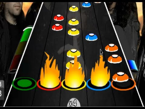 Guitar Flash: Through The Fire And Flames DragonForce 100 FC Expert 64.768