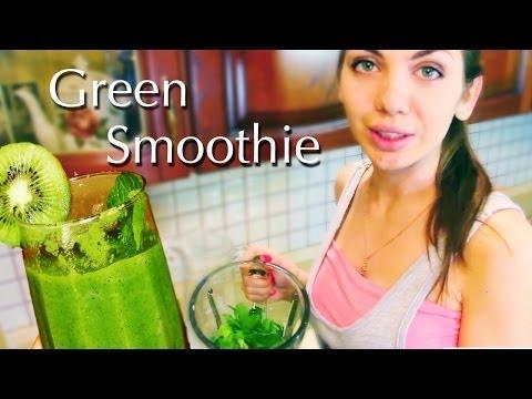 #Green Smoothie♡ Зелёный смузи Здоровое питание Стройное тело Молодость кожи #5 Mp4