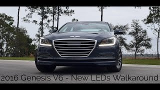New LEDs Walkaround - 2016 Hyundai Genesis 3.8 RWD Ultimate