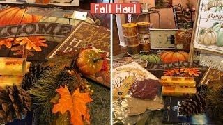 Fall Haul | Old Time Pottery | Big Lots | Dollar General | Dollar Tree 2018
