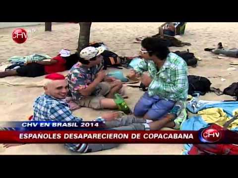 Mundial 2014: Enfrentamiento entre hinchas argentinos y chilenos