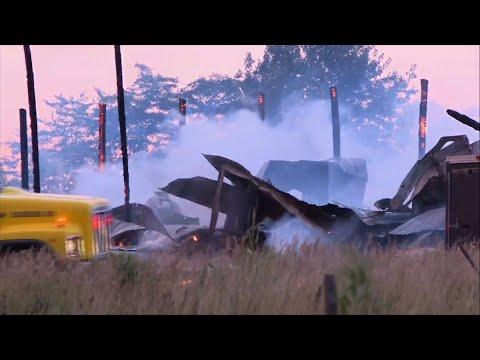 Explosion At SW Missouri Pyrotechnics Company