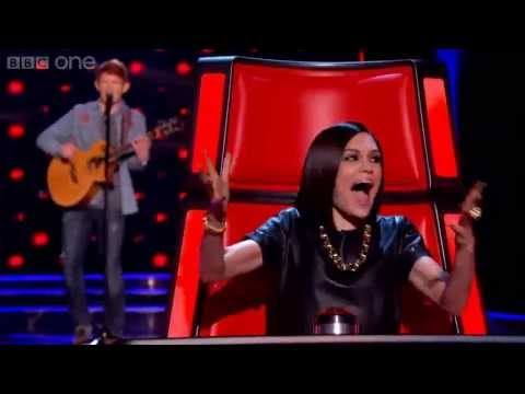 The Voice UK 2013 - Conor Scott performs 'Starry Eyed' Blind Auditions