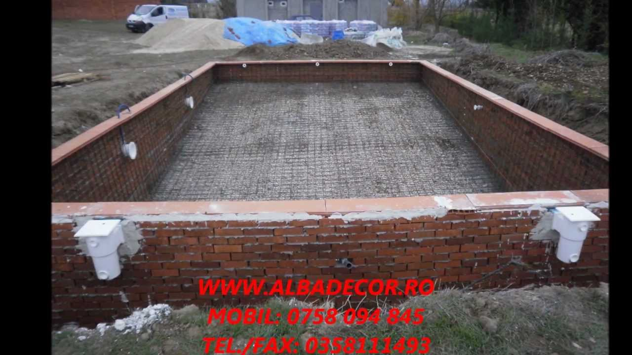 Piscine bucuresti piscine reale how we for Constructii piscine beton