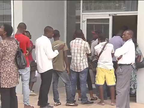 Universidade Agostinho Neto pública lista das provas de admissão   Primeiro Jornal   TV Zimbo  