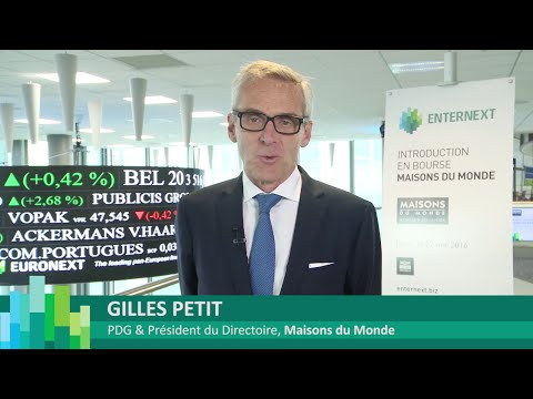 Introduction en bourse de Maisons du Monde sur Euronext