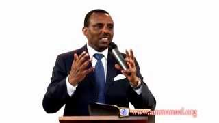 Conference by Pastor Mesfin Mulugeta (Aug 30, 2015) held at Ammanuel Montreal Evangelical Church