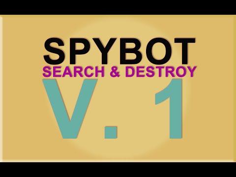 Spybot Search Destroy: Descarga y configuracion.
