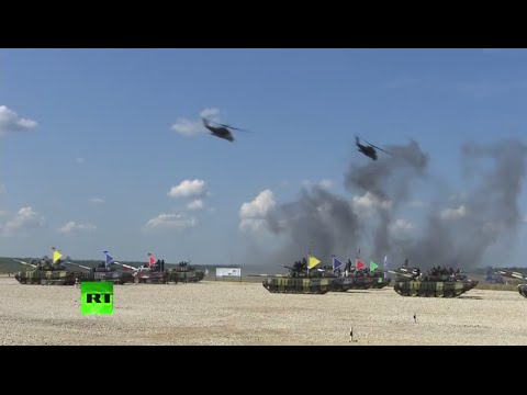 Tank Biathlon: World Championship fires off near Moscow
