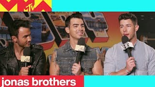 Jonas Brothers on their Reunion & What's Changed | 2019 Video Music Awards