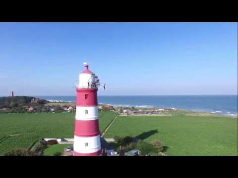 Happisburgh Lighthouse Zip Slide Challenge