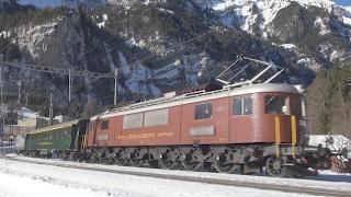 Locomotive Ae 6/8, Reine du Lötschberg - Trains Suisses