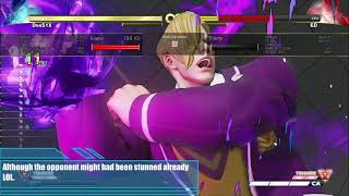 Dee Six's Ed Tech Video # 4 OP Psycho Knuckle - Street Fighter V - SFV - Dee51X - PR12