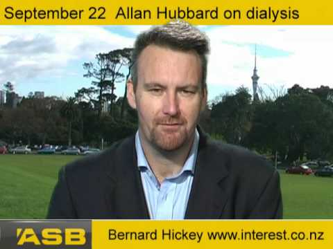 September 22: Allan Hubbard of South Canterbury Finance on dialysis