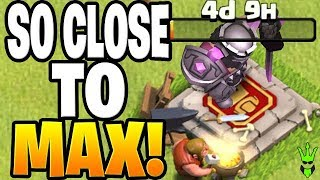 SO CLOSE TO FULLY MAXED TH9! - Let's Play TH9 - Clash of Clans