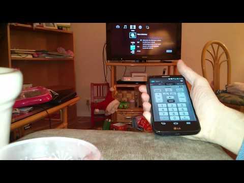 Quick Remote avec LG G2