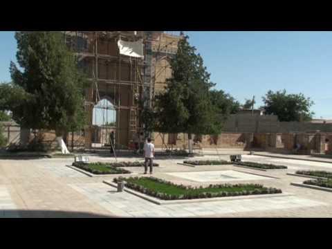 Gur-e Amir (Amir Timur, Tamerlane) mausoleum in Samarkand, Uzbekistan
