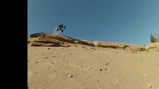 Axial SMT10 Bigfoot Monster Truck cliff jumps