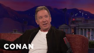 Tim Allen's Issues With Superhero Movies  - CONAN on TBS