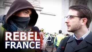 """""""The Level of Treason from the Press in France is Astounding"""" Yellow Vest Interview   Jack Buckby"""