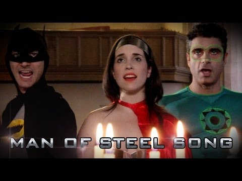 MAN OF STEEL SONG (Superman Song Parody)