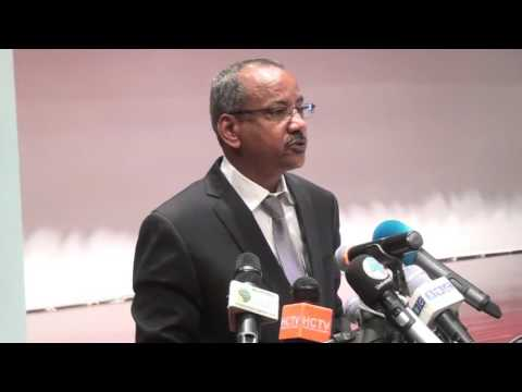 EASF Day Djibouti - Minister for Defence, Republic of Djibouti [Video in French]