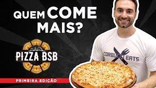 """Desafio #31 - Campeonato """"Quem come mais pizza?"""" (Pizza BSB, Outback)"""