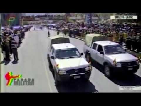 Parada militar - Bolivia 2014 aniversario de las FF. AA Parte1