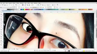 HOW TO DRAW VECTOR CARTOON WITH COREL DRAW (part 1)
