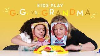 GG vs. Grandma | Kids Play | HiHo Kids
