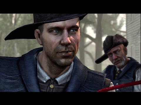 "Assassin's Creed III - Benedict Arnold Missions, ""A Spy Among Us"" John Anderson Follow Scene PS3"