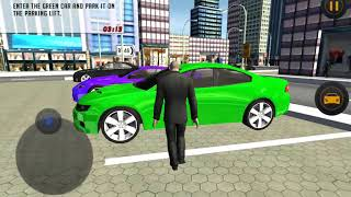 Roadway Multi Level Car Parking Game