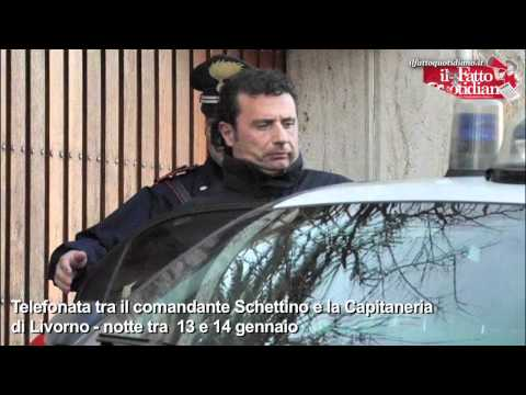 Telefonata tra Schettino e la Capitaneria Livorno Music Videos