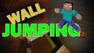 UNIQUE WALL JUMPS (Minecraft Advanced Parkour)