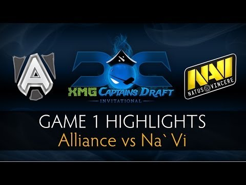 Dota 2 Alliance vs Na` Vi - Game 1 Highlights - The XMG Captains Draft Invitational