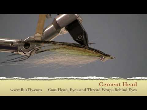 Clouser Minnow - Simple Saltwater Clouser by BuzFly