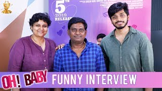 Thagubothu Ramesh Funny Interview With Nandini Reddy & Teja | Oh Baby Movie | Suresh Productions