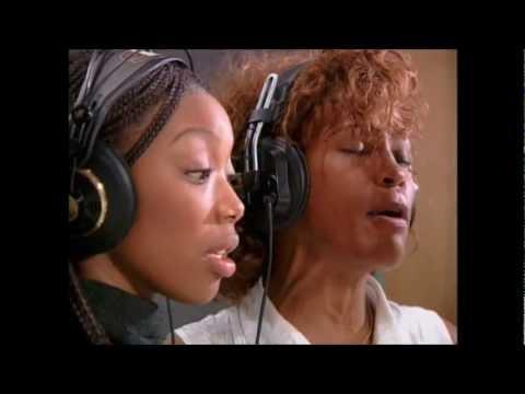 Whitney & Brandy Behind The Scenes
