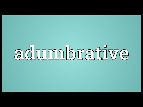 Header of adumbrative
