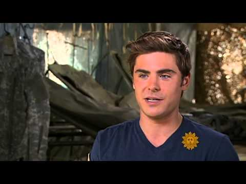 Zac Efron  I'm not a heartthrob