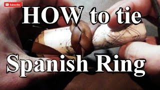 How to tie Spanish Ring Knot