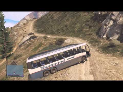 Grand Theft Auto 5 Online -  Bus Tour