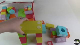 Velcro Brand Construction Building Blocks Review and Unboxing
