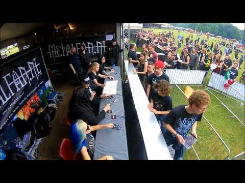 Arch Enemy autograph session @ FortaRock festival