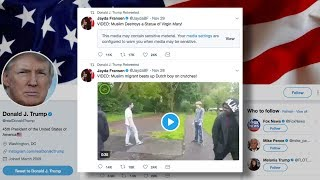 Shitlibs Freaking Out Over Britain First DJT Retweets
