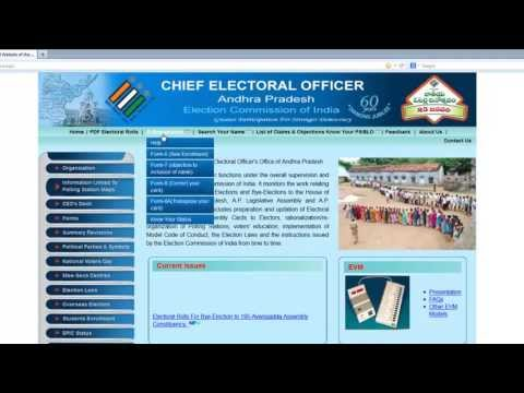 Register your Election Voter ID Card Online within 3Min.