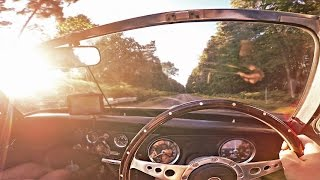 Driving to Norfolk from London in the MG Midget